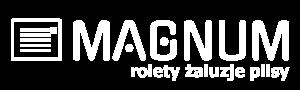 logo magnum biale